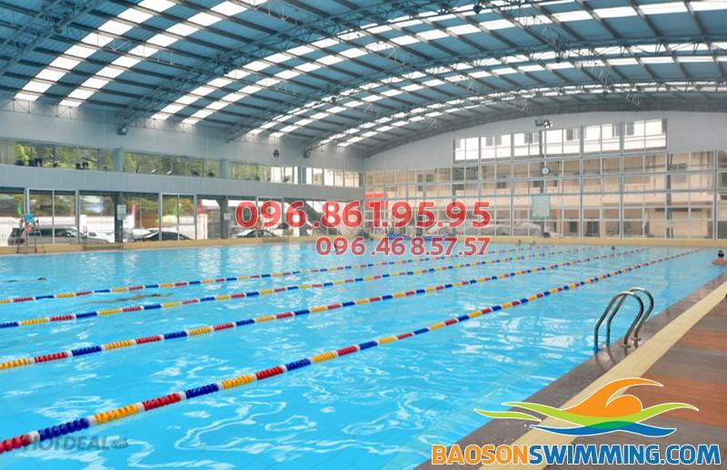 Nội dung các lớp học bơi bể Tăng Bạt Hổ rất phong phú và nhiều kỹ năng thực tiễn