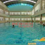 Các bể bơi ở Cầu Giấy Hà Nội tốt nhất với trẻ em