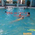 Học bơi Hà Nội 2018 – Các lớp học bơi ở Hà Nội cho trẻ em ở bể Bảo Sơn