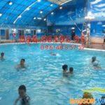 Lớp học bơi tốt nhất Hà Nội, có GV nữ