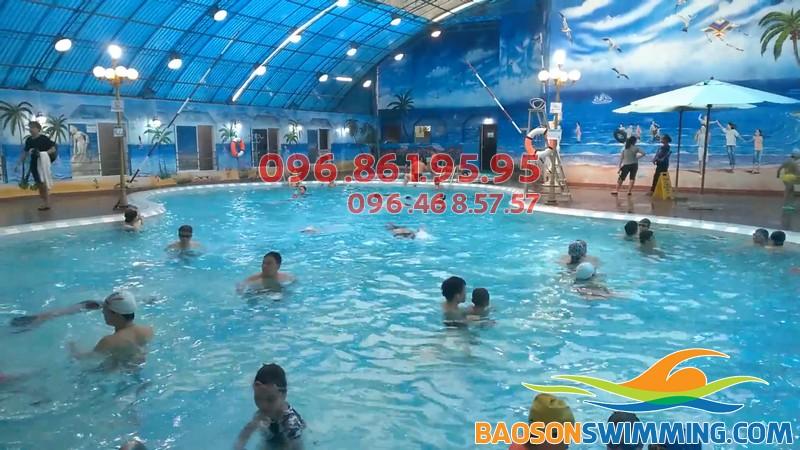 Lớp học bơi ở Bảo Sơn - Địa chỉ học bơi lý tưởng cho trẻ em và người lớn