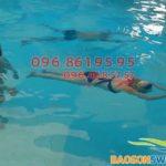 Địa chỉ dạy bơi người lớn chuyên nghiệp tại Hà Nội