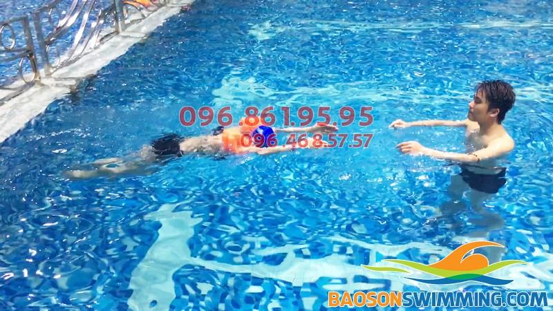 Bể bơi cao cấp ở Hà Nội - Bể bơi cao cấp Hapulico