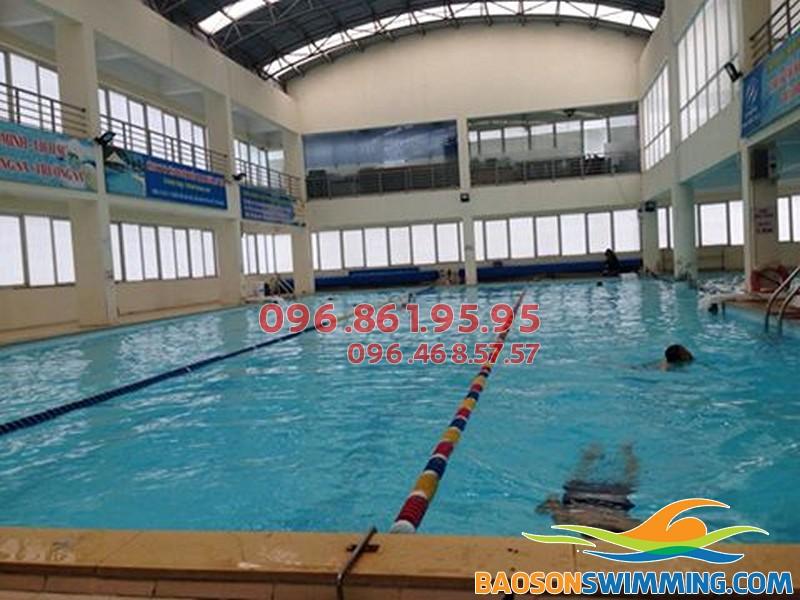 Top bể bơi ở Cầu Giấy Hà Nội là bể bơi VIP Hà Nội cho bé học bơi 2018