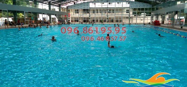 Top 5 địa điểm bể bơi ở Hà Nội được yêu thích nhất