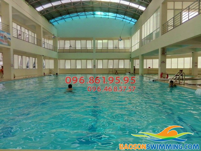 Bể bơi Tôn Thất Thuyết - Địa chỉ học bơi tốt nhất quận Cầu giấy