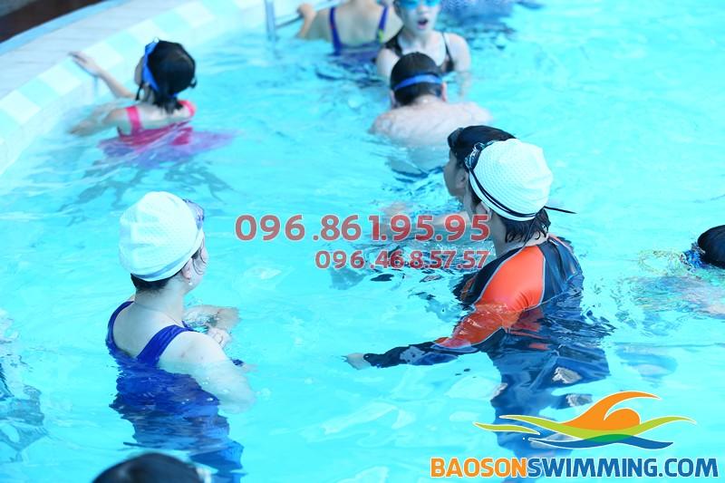 Bảo Sơn Swimming - Địa chỉ dạy bơi giá rẻ tại Hà Nội hè 2018, trung tâm học bơi tại Hà Nội uy tín