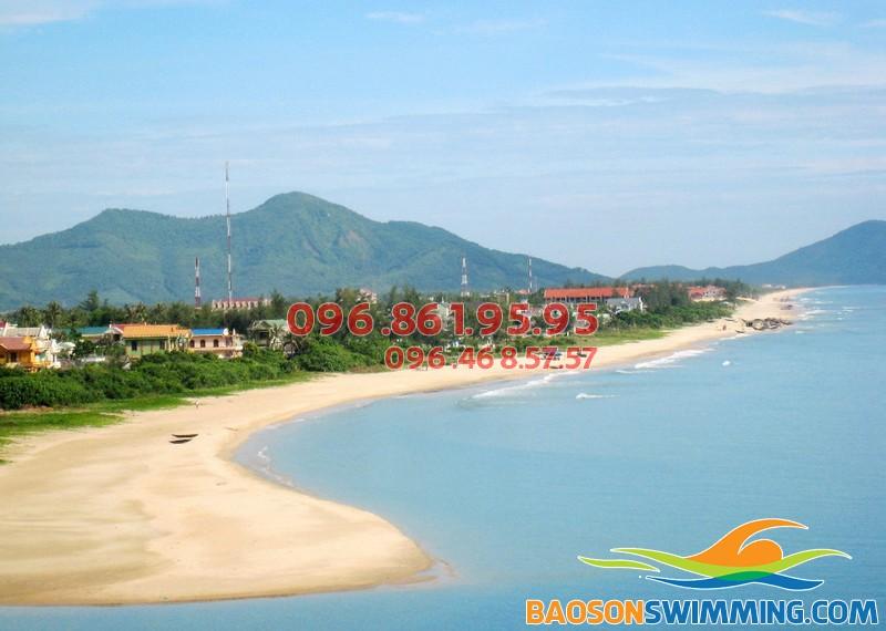 Bãi biển Nhật Lệ - Quảng Bình đẹp và hoang sơ