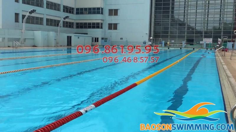 Bể bơi Mỹ Đình - cung thể thao dưới nước Mỹ Đình