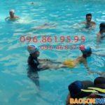 Dạy bơi cho trẻ em tại Hà Nội – Dạy bơi kèm riêng ở Bảo Sơn