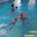 Tập bơi ở Hà Nội: Địa chỉ tập bơi cho bé tốt nhất
