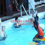 Lớp học bơi người lớn ở bể Bảo Sơn 2019 bao nhiêu tiền 1 khóa?