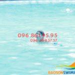 3 khóa học bơi kèm riêng cho trẻ em tốt nhất bể bơi khách sạn Bảo Sơn