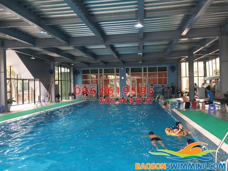 Top bể bơi trong nhà giá rẻ tại Hà Nội - bể bơi Nemo, 280a Khuất Duy Tiến