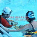 Các lớp học bơi khách sạn Bảo Sơn cho người lớn, học bơi trẻ em 2018