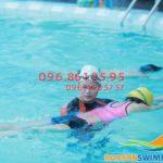 Học bơi ở Hà Nội: Lớp học bơi cho người lớn tại bể Bảo Sơn 2018