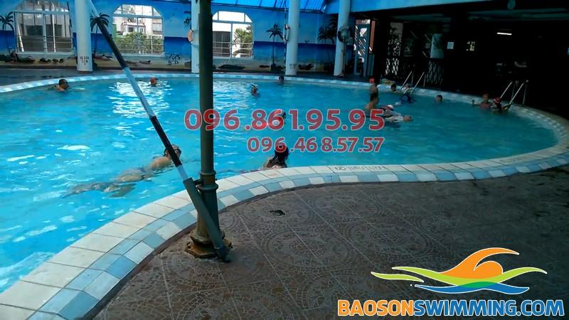 Top bể bơi trong nhà giá rẻ tại Hà Nội - bể bơi Bảo Sơn