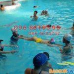 Dạy học bơi cho trẻ em tại Hà Nội 2018 cam kết hiệu quả, an toàn