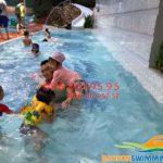 Trung tâm dạy bơi chuyên nghiệp ở bể bơi Bona 379 Nguyễn Xiển
