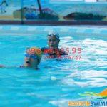 Hướng dẫn cách tập kỹ thuật thở nước cho người chưa biết bơi