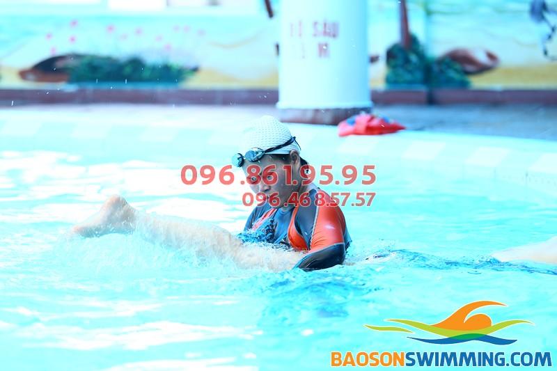 Đăng ký học bơi khách sạn bể bơi Bảo Sơn với học phí kèm riêng rẻ nhất