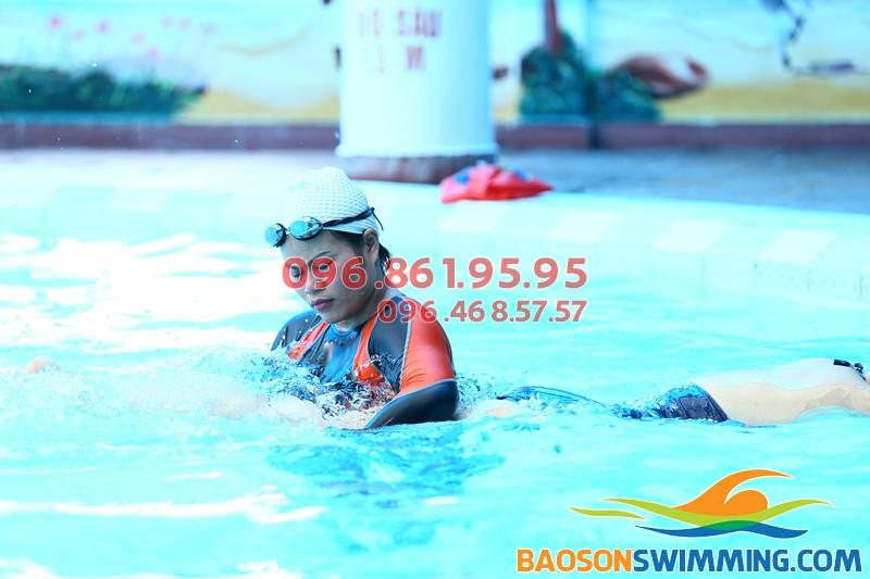 Học bơi hè 2018 - Các lớp học bơi Bảo Sơn đang được giảm học phí