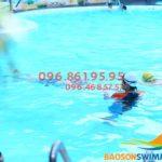 Học phí học bơi cho người lớn ở bể bơi khách sạn Bảo Sơn hè 2018