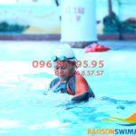 Lớp học bơi bể bơi khách sạn Bảo Sơn với HLV nữ kèm riêng hè 2020