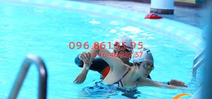 Thông tin lớp học bơi cấp tốc ở bể bơi Bảo Sơn cho người lớn 2019