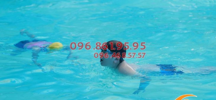 Lớp học bơi cho trẻ em 2020 cam kết 100% bé biết bơi sau khóa học