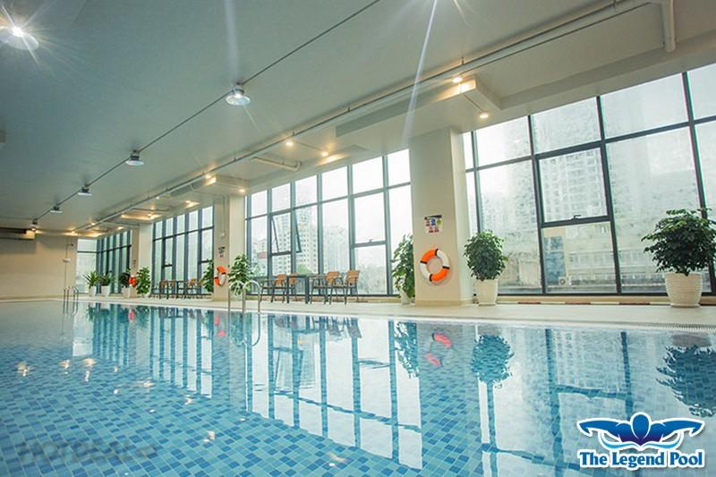Bể bơi bốn mùa The Legend Pool - Bể bơi chất lượng quốc tế sẽ mang đến cho bạn trải nghiệm bơi lội thú vị