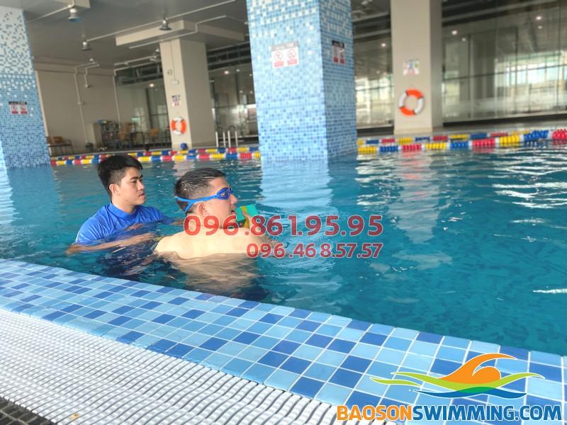 Bể bơi The Legend đáp ứng tốt các tiêu chí xanh- sạch - đẹp