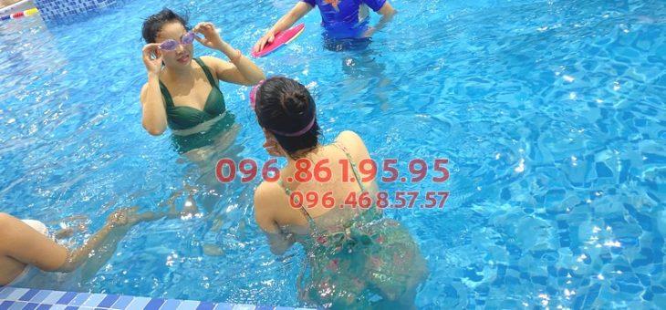 Review chất lượng lớp học bơi bể The Legend Nguyễn Tuân