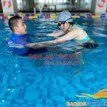 Lớp học bơi người lớn bể The Legend Pool tốt nhất Hà Nội